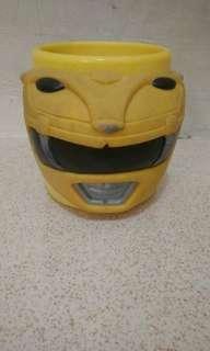 Mug Yellow Mighty Morphin Power Ranger