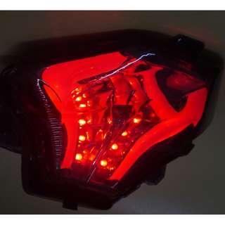 Yamaha Y15 Y15ZR R25 R3 MT-07 LED Tail Brake Light Integrated Turn Signal