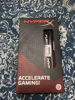 hyper x fury 8gb ddr4