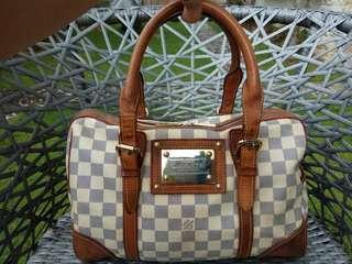 LV medium in Damier azure handbag