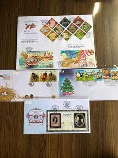 N119 - Malaysia First day Covers (4 cover)