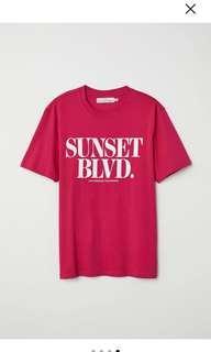 Bn H&M sunset top