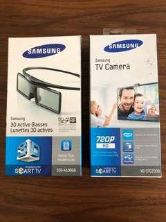 BNIB Samsung TV & 3D Active Glasses