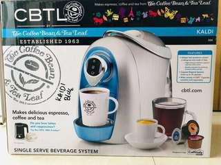 Coffee maker coffee machine single serve Kaldi by Coffee Bean Tea Leaf CBTL/ with a free gift from seller.
