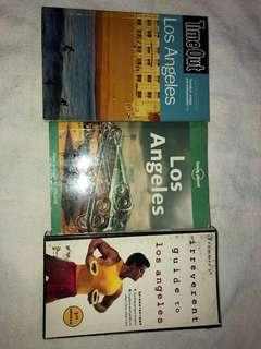 Bundle of 3 Los Angeles assorted guide books