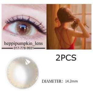 Contact Lens Natural Brown