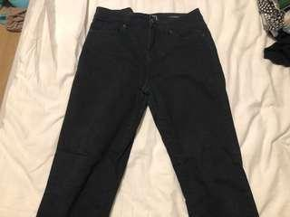 "Guess 27"" Black Skinny Jeans"