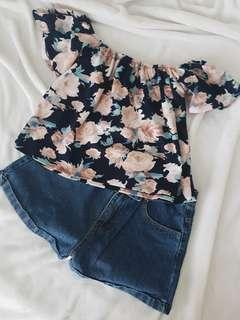 Blue floral OFTS
