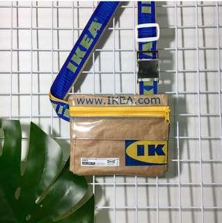IKEA PAPER FLIP SLING BAG