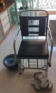 不銹鋼沐浚便厕椅