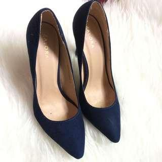Zalora blue heel