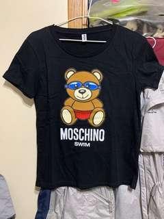 🚚 Moschino蛙鏡熊短袖上衣