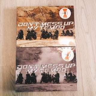 ☄️[wts / exo] don't mess up my tempo instock sealed album