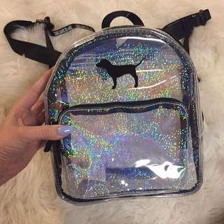 Victoria's Secret PINK Glitter backpack