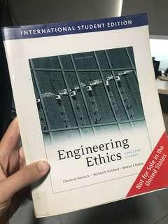 Engineering Ethics, Harris, Jr, Pritchard, Rabins