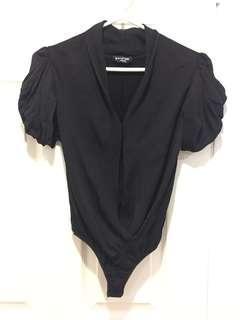 Bebe black bodysuit size small