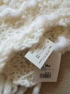 🆕️ 米白色 冷頸巾