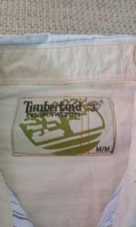 🚚 Timberland 藍白條紋長袖休閒襯衫 AF AE RL