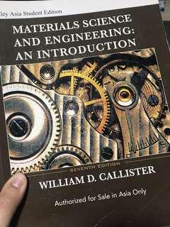 Materials Science and Engineering: An Introduction, 7th edition, Callister