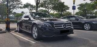 Mercedes Benz Rental with Driver
