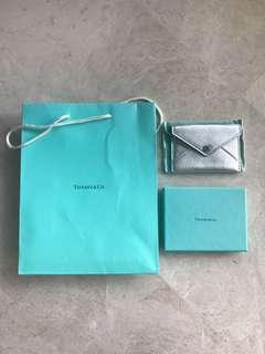 Brand New with Box/Bag Tiffany Leather Name Card Holder