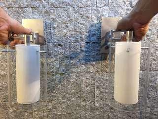 2 Wall Mount Dimming Lights