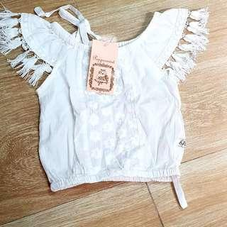 Brand new peppermint blouse 1T