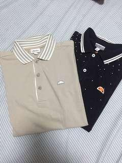 AUTHENTIC ELLESSE POLO SHIRTS