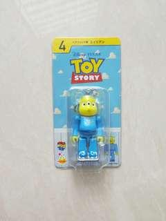 Medicom toy Disney 迪士尼 反斗奇兵 toystory 三眼仔 toy story bearbrick 100% be@rbrick
