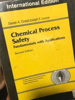 Chemical Process Safety Fundamentals with Applications, 2nd edition, Crowl, Louvar