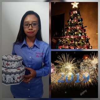 Persiapan Hari Natal dan tahun baru 2019 - jasa menghantar hadiah