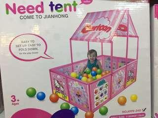 Playpen with tent brandnew