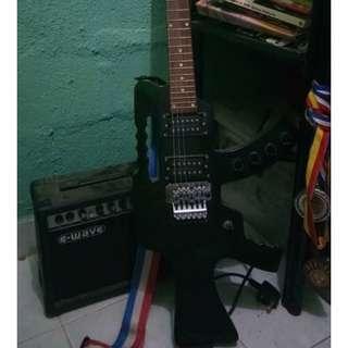 Gitar M-16 dan Amp utk dilepaskan segera! (Germany)