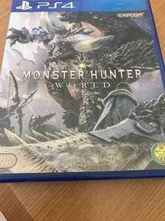PS4 monster hunter
