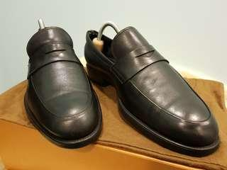 Tods Black Leather Shoe