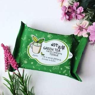 Esfolio Pure Skin Green Tea Facial Cleansing Tissue