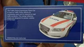 WTT Police Expressway Patrol Car for Police Emergency Response Team Vehicle