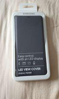 AUTHENTIC SAMSUNG NOTE 8 LED VIEW COVER!