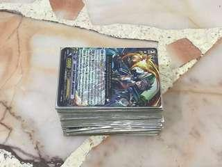 Common and Rare Vanguards Cards (EL & Japanese)
