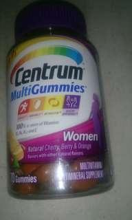 Centrum multivitamins gummies 70 pcs