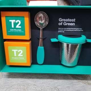 T2 茶格連茶葉套裝