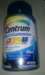 Centrum gummed multivitamins 70 tab