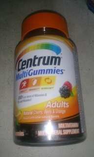 Centrum multivitamins gummies 70tab