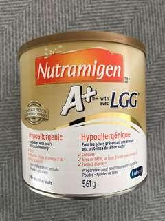 Hypoallergenic formula for babies with cow's milk protein allergy