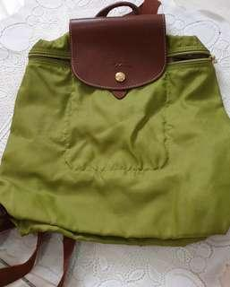 Authentic Longchamp Le Pliage backpack #TGV3