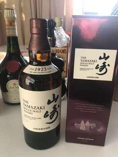 Yamazaki Single Malt Whisky Limited Edition 700 ml over 6 Years or more