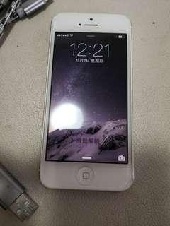白色 iPhone 5 大容量64 GB