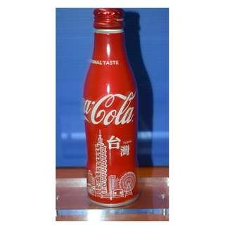 Coca Cola Taiwan 50 Years Limited Edition Aluminium Bottle
