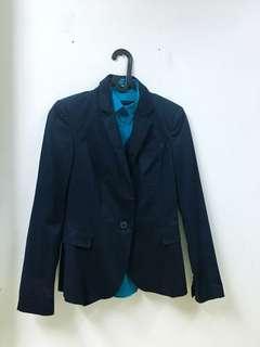 Forever 21 Blazer (Navy Blue)