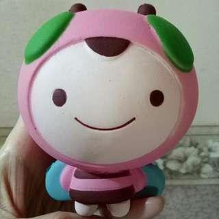 (NEW) Squishy Pink Bee